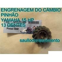 Engrenagem De Cambio Pinhão Do Motor De Popa Yamaha 15 Hp Dm