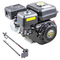 Motor Gasolina 5.5hp 163cc Barco 4t Schulz + Rabeta Std 1,5m