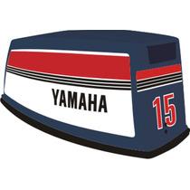 Adesivo Motor De Popa Yamaha 15 Hp 83/86