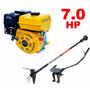 Motor Barco 7,0hp 4t Buffalo Bote + Rabeta Completa 2,20m