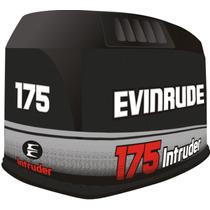 Adesivo Motor De Popa Evinrude 175 Hp