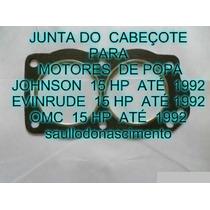 Junta Do Cabeçote Motores De Popa Evinrude 15 Hp Jonhson 15