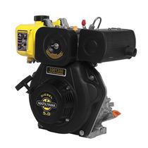 Motor De Popa A Diesel 5hp Partida Elétrica Com Rabeta