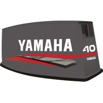 Adesivo Motor De Popa Yamaha 40 Hp 97 Bola