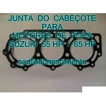 Junta De Cabeçote Motor De Popa Suzuki 65 Hp Frete Grá