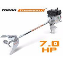 Motor Barco Buffalo 7.0cv 4t +rabeta Bote Popa Turbo Tornado