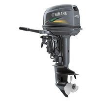 Motor De Popa Yamaha 25 Hp 2015 - 2 Revisões Free + Brinde
