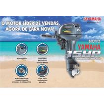 Motor De Popa Yamaha 15hp Gmhs - Zero