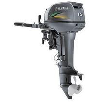 Motor De Popa Yamaha 15 Hp 2t 2015 - Pronta Entrega
