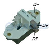 Regulador De Voltagem Fiat 14v 95a - Ga028