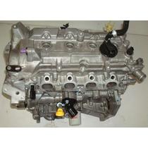 Motor Parcial Nissan March 1.6 16v 2013 (base De Troca)