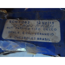 Automatico Motor De Partida Arranque Opala C10 Veraneio
