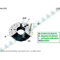 Placa Retificadora Chevette 1.6 75a - Gauss