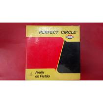 Jogo De Anéis De Pistão Perfect Circle Opala / Caravan