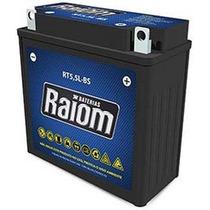 Bateria Moto Rt5,5l-bs 5,5ah Xtz 125 Ybr 125 Dafra Crypton