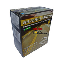 Bateria Selada Gs 650 Route, Igual Yb12al-a Só Que Selada