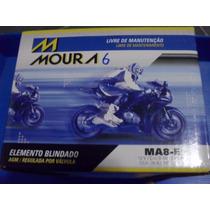 Bateria Moto Moura Ytx9-bs Yuasa Ma8-e 8ah Cb500 Shadow Xt6