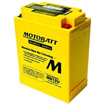 Bateria De Gel Agm Quad Flex Motobatt Mb12u 15,0ah Cb400 F