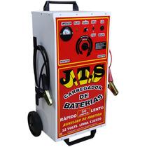 Carregador De Bateria 50 Amp Com Auxiliar De Partida