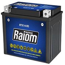 Bateria Selada Rtx14-bs Harley Davidson Street Rod - Raiom
