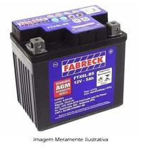 Bateria Moto Fabreck Ytx 5 Bs Biz 100 Ks 2002 Em Diante