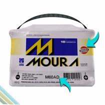 Bateria Automotiva Moura 60 Ampéres M60ad 18 Meses Garantia