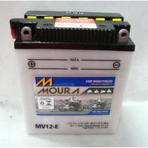 Bateria P/ Moto Moura Mv12- Esquerda Cb 400/450/cbr 450 Cod.