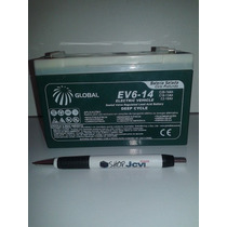 Bateria 6v 14ah Moto Elétrica Bandeirante Vulcan Magic Toys
