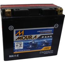 Bateria Moto Moura 11ah Yt12b-bs Zx1000 Xj6 R6 Fz6 Zx-10r