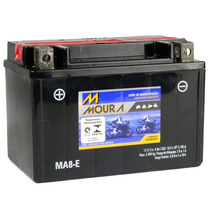 Bateria Selada Ma8-ei 8ah Honda Cb500 Cbr650 F Vt600 Shadow