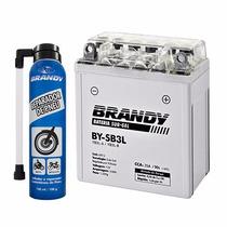 Bateria Sub Gel Brandy Moto Xl 250/350 By-sb3l + Repadador