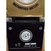 Bateria Moto Gsi 12v Ctx14- Bs Honda/yamaha750 Sundown