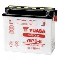 Bateria Yb7b-b Yuasa Cbx200/nx200/xr200/sahara