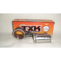 Biela Completa Txk Honda Titan 150 Pino 15mm Haste Curta