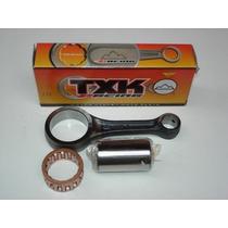 Biela Txk Cg-titan-fan 150 Pino 15mm Haste -2mm Competiçao
