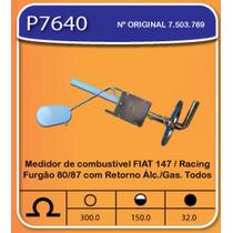 Medidor De Combustivel Fiat 147/racing Furgão 80/87 Com Ret