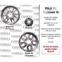 Polia Regulavel Em Aluminio Para Motor Vw Ap 8 Válvulas