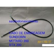 Peças Sundown Motard 200 Stx 200 Cabo De Embreagem