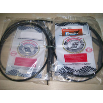 Kit 6 Cabos Honda Cbx 250 Twister Embreagem Velocimetro Acel