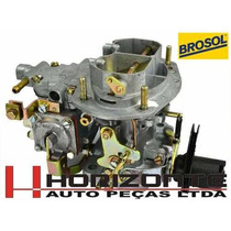 Carburador Opala Caravam Gasolina 4cc Solex H34 Seie Novo