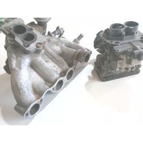 Carburador Miniprogressivo E Coletor De Admissão Do Motor Ap