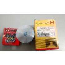 Pistão De Rd 135 0,75 Metal Leve , Aneis Kmp (rm)