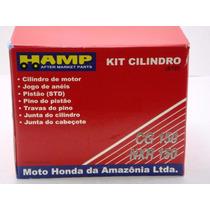 Kit Cilindro/pistão/anéis Titan/nxr Bros150 Original Honda