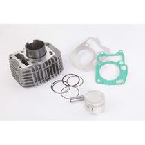 Kit Cilindro De Motor Honda Biz 125 - (pistão+anéis+juntas)