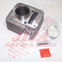 Cilindro Motor Ybr 125 Com Anel Kmp Modelo Original 0040