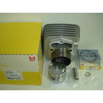 Kit Cilindro/pistão/anéis Cbx 200/xr 200/nx 200 Metal Leve