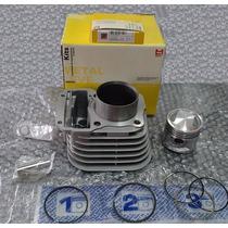Kit Cilindro Motor Pistão / Anel Cg 125 Até 89 / Ml - 125