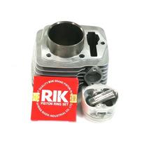 Kit Aumento Cilindrada Nx/cbx/xr 200 C/pistão Crf 230 66,5mm