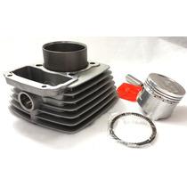 Kit Cilindro Motor C/ Pistão E Aneis Dafra Speed 150