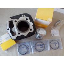 Kit Cilindro Motor Honda Cg/ Ml/ Turuna/ Xls Metal Leve (std